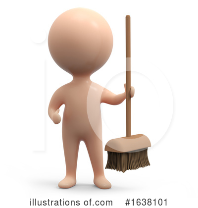3d People Clipart #1638101 by Steve Young