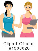 Personal Trainer Clipart #1308026 by BNP Design Studio