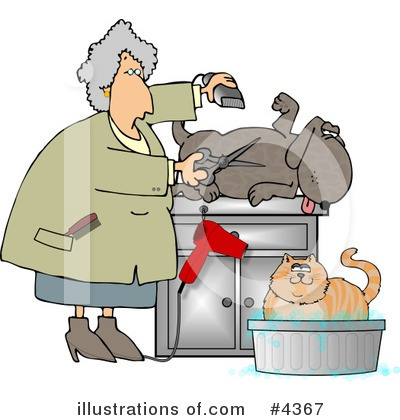 Veterinarian Clipart #4367 by djart