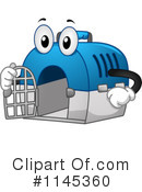 Royalty-Free (RF) Pet Crate Clipart Illustration #1145360