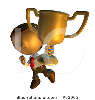 Winner Clipart #63005 by AtStockIllustration