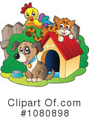 Royalty-Free (RF) Pets Clipart Illustration #1080898