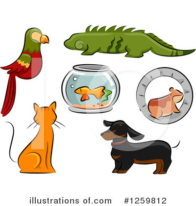Hamster Clipart #1259812 by BNP Design Studio