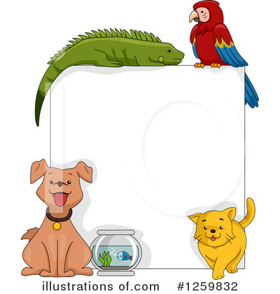 Parrot Clipart #1259832 by BNP Design Studio