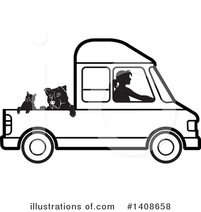 Dog Clipart #1408658 by Lal Perera