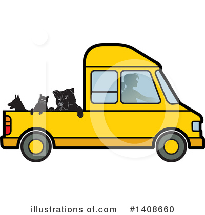 Dog Clipart #1408660 by Lal Perera