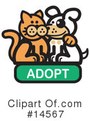 Pets Clipart #14567 by Andy Nortnik