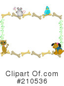 Royalty-Free (RF) Pets Clipart Illustration #210536