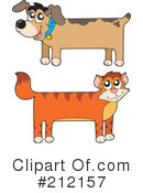Royalty-Free (RF) Pets Clipart Illustration #212157