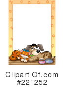 Royalty-Free (RF) Pets Clipart Illustration #221252