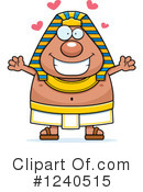Pharaoh Clipart #1240515 by Cory Thoman