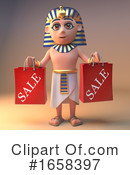 Pharaoh Clipart #1658397 by Steve Young