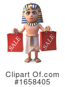 Pharaoh Clipart #1658405 by Steve Young