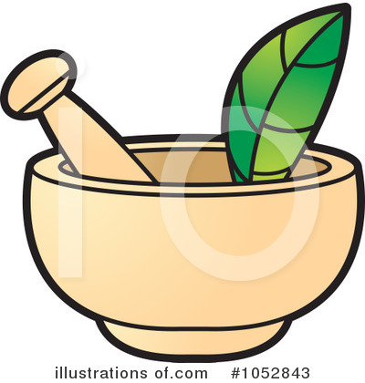 Mortar And Pestle Clipart #1052843 by Lal Perera