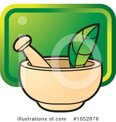 Mortar And Pestle Clipart #1052878 by Lal Perera