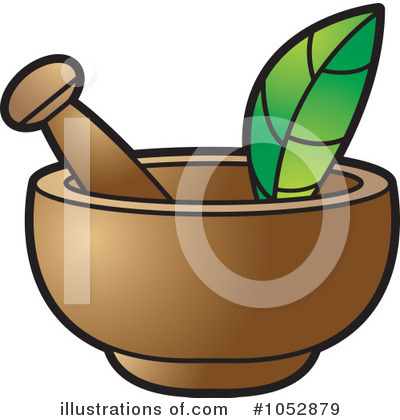 Mortar And Pestle Clipart #1052879 by Lal Perera