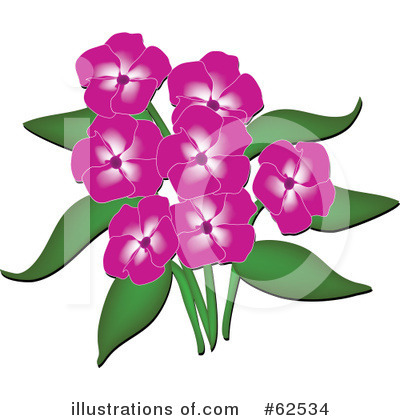 Flowers Clipart #62534 by Pams Clipart