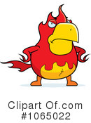 Royalty-Free (RF) Phoenix Clipart Illustration #1065022
