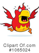 Royalty-Free (RF) Phoenix Clipart Illustration #1065024