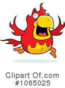 Royalty-Free (RF) Phoenix Clipart Illustration #1065025