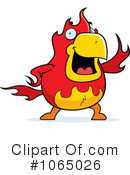 Royalty-Free (RF) Phoenix Clipart Illustration #1065026