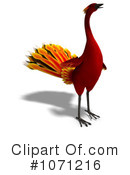 Royalty-Free (RF) Phoenix Clipart Illustration #1071216