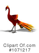Royalty-Free (RF) Phoenix Clipart Illustration #1071217
