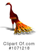 Royalty-Free (RF) Phoenix Clipart Illustration #1071218