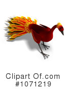 Royalty-Free (RF) Phoenix Clipart Illustration #1071219