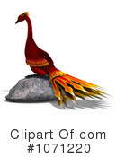 Royalty-Free (RF) Phoenix Clipart Illustration #1071220