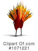 Royalty-Free (RF) Phoenix Clipart Illustration #1071221