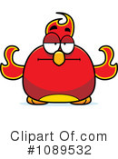 Royalty-Free (RF) Phoenix Clipart Illustration #1089532