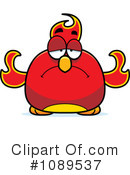 Royalty-Free (RF) Phoenix Clipart Illustration #1089537