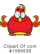 Royalty-Free (RF) Phoenix Clipart Illustration #1089538