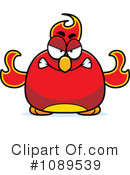 Royalty-Free (RF) Phoenix Clipart Illustration #1089539
