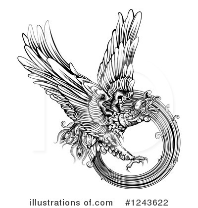 Wings Clipart #1243622 by AtStockIllustration