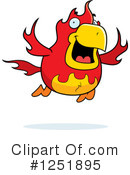 Royalty-Free (RF) Phoenix Clipart Illustration #1251895