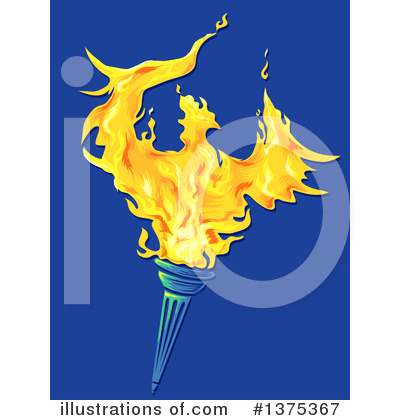 Torch Clipart #1375367 by BNP Design Studio