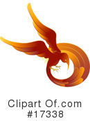 Royalty-Free (RF) Phoenix Clipart Illustration #17338