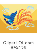 Royalty-Free (RF) Phoenix Clipart Illustration #42158