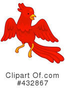 Royalty-Free (RF) Phoenix Clipart Illustration #432867