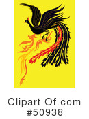 Royalty-Free (RF) Phoenix Clipart Illustration #50938