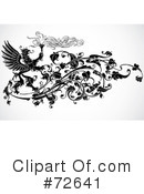 Royalty-Free (RF) Phoenix Clipart Illustration #72641