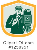 Photographer Clipart #1258951 by patrimonio