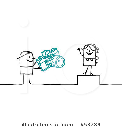 Photographer Clipart #58236 by NL shop