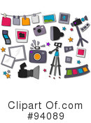 Photography Clipart #94089 by BNP Design Studio