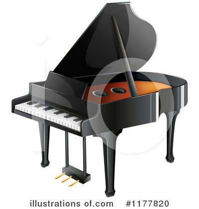 Piano Clipart #1177820 by Graphics RF