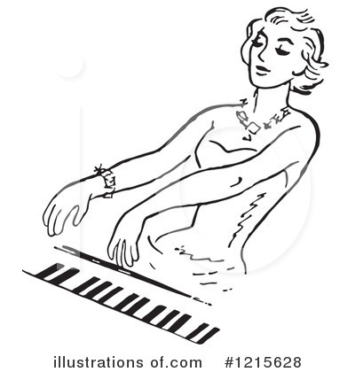 Piano Clipart #1215628 by Picsburg