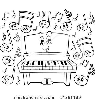 Piano Clipart #1291189 by visekart
