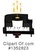 Piano Clipart #1352823 by BNP Design Studio